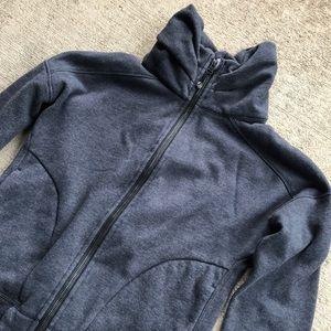 Lululemon fleece jacket size 4 Grey